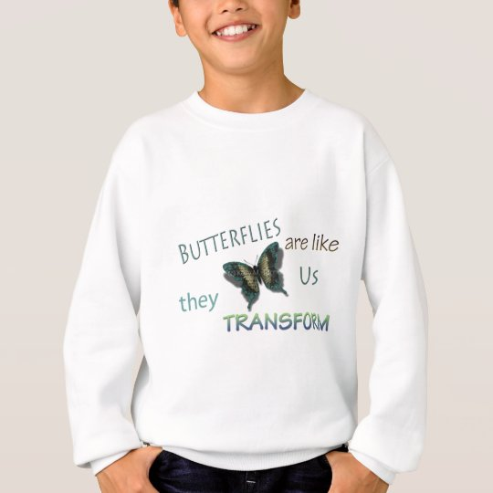 Butterfly Virtues Sweatshirt