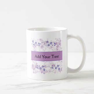 Butterfly Vision in Lilac Purple Coffee Mug