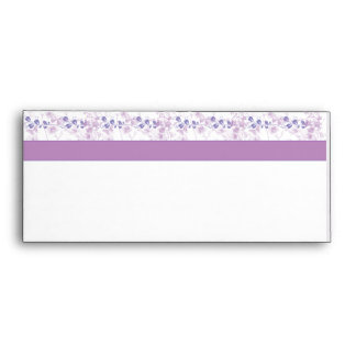Butterfly Vision in Lilac Purple Envelope
