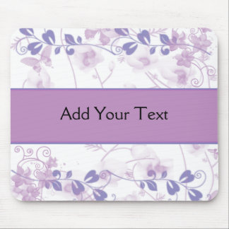 Butterfly Vision in Lilac Purple Mouse Pad