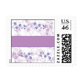 Butterfly Vision in Lilac Purple Stamp