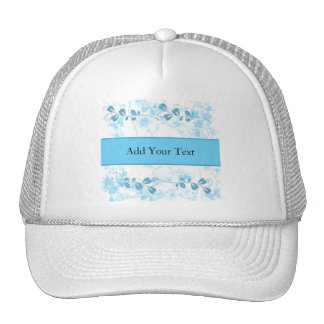 Butterfly Visions in Blue Trucker Hat