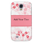 Butterfly Visions in Honeysuckle Pink Galaxy S4 Case