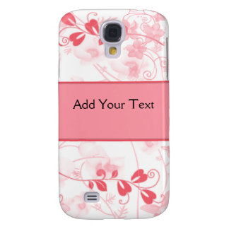 Butterfly Visions in Honeysuckle Pink Samsung Galaxy S4 Case