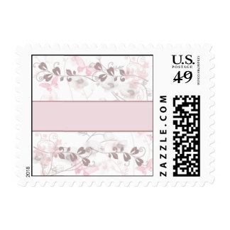 Butterfly Visions in Pink and Mauve Postage