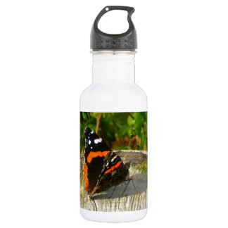 Butterfly Waiting Stainless Steel Water Bottle