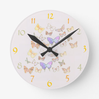 Feminine Wall Clocks Zazzle