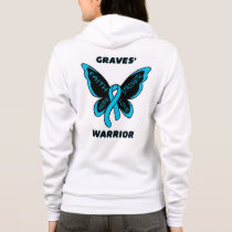 Butterfly/Warrior...Graves' Hoodie