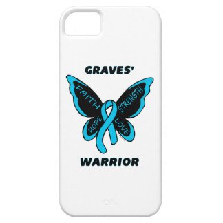 Butterfly/Warrior...Graves' iPhone SE/5/5s Case
