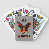 Butterfly/Warrior...MS Bicycle Playing Cards