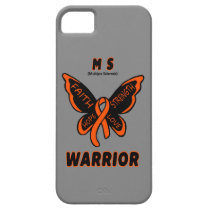Butterfly/Warrior...MS iPhone SE/5/5s Case