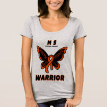 Butterfly/Warrior...MS T-Shirt