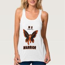 Butterfly/Warrior...MS Tank Top
