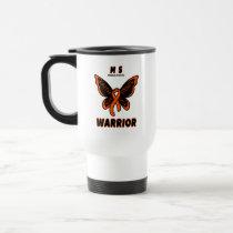 Butterfly/Warrior...MS Travel Mug