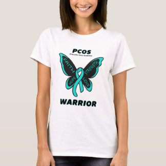 Butterfly/Warrior...PCOS T-Shirt
