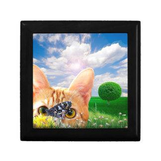Butterfly Watcher Jewelry Box