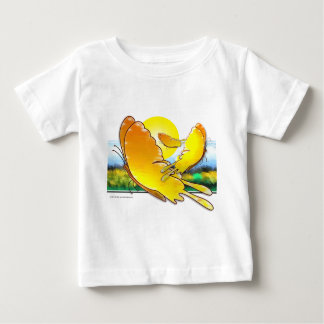 Butterfly Watercolor Baby T-Shirt