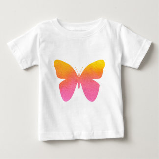 Butterfly Watercolor Pink Design Baby T-Shirt