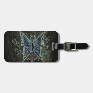 Butterfly Web Bag Tag