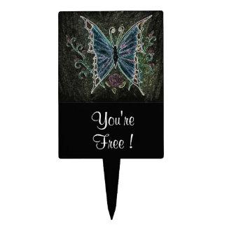 Butterfly Web Cake Topper
