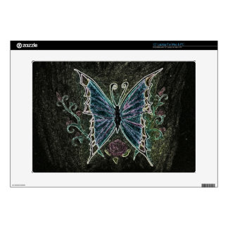 "Butterfly Web Decals For 15"" Laptops"