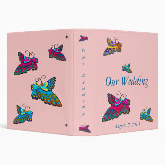 Butterfly Wedding Album Binder