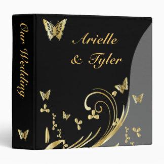 """Butterfly Wedding Binder - Organizer - 1.5"""""""