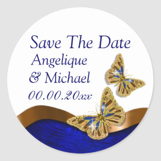 Butterfly wedding birthday engagement anniversary sticker