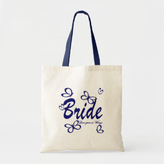 Butterfly Wedding/ Bride Tote Bag