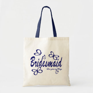 Butterfly Wedding/ Bridesmaid Tote Bag