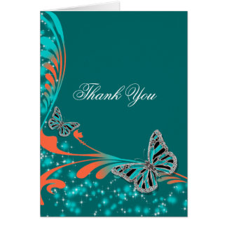 Butterfly wedding engagement anniversary card