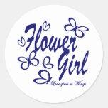 Butterfly Wedding/ Flower Girl Stickers