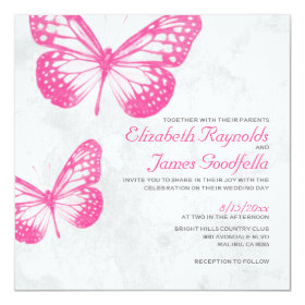 butterfly wedding invitations custom wedding invitations online