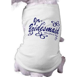 Butterfly Wedding/Jr.Bridesmaid Doggie Shirt