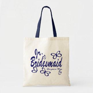 Butterfly Wedding/Jr.Bridesmaid Tote Bag