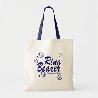 Butterfly Wedding/ Ring Bearer Tote Bag