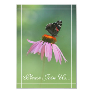Butterfly Wedding Vow renewal  invitations