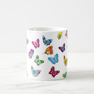 butterfly White 11 oz Classic Mug