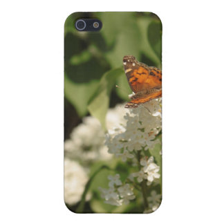 Butterfly White Lilac iPod Case 2