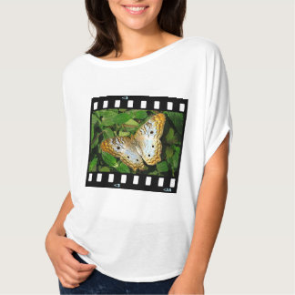 butterfly- white peacock T-Shirt