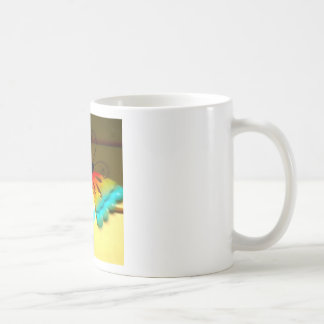 Butterfly Whizzing by Art Coffee Mug