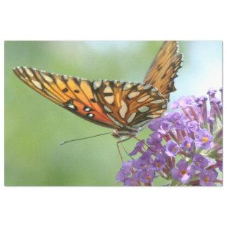 Butterfly Wildlife Flower Floral Tissue Paper