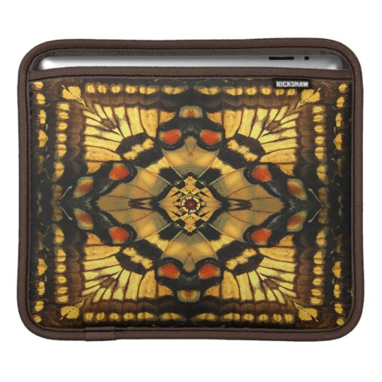 Butterfly Wing Kaleidoscope iPad Sleeve