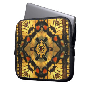 Butterfly Wing Kaleidoscope  Laptop Travel Sleeve Laptop Sleeves