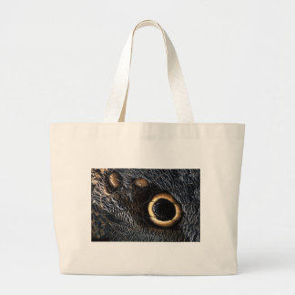 butterfly wing large tote bag
