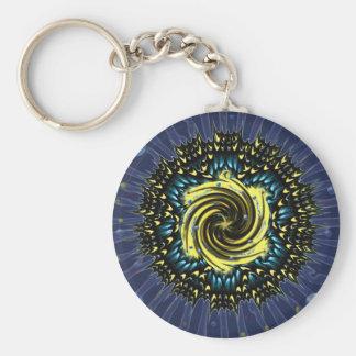 Butterfly Wing Mandala Keychain