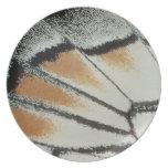 Butterfly Wing Melamine Plate