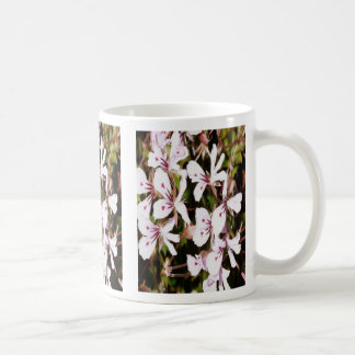 Butterfly wing petals, on a mug