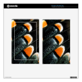 Butterfly Wing Scale Pattern Kindle Fire Skins