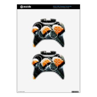 Butterfly Wing Scale Pattern Xbox 360 Controller Skin